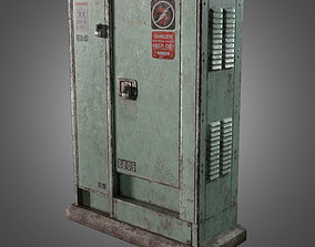 Power Junction Box - PBR Game Ready 3D asset