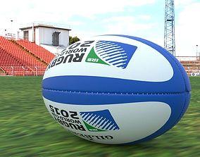 3D model Ballon de rugby