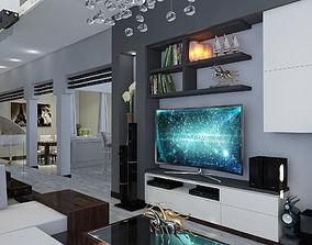 Livingroom Modern Tailand 3D asset