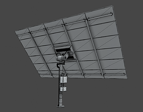 3D model solar collector 13