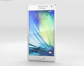3D model Samsung Galaxy Alpha A3 Pearl Whit
