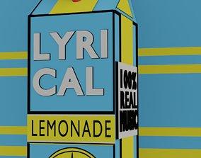Lyrical Lemonade 3d logo VR / AR ready