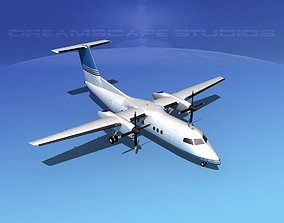 3D model Dehaviland DHC-8 100 Corporate 2