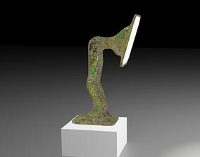 3D grass lamp
