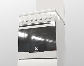 Combined cooker ELECTROLUX EKK951301W 3D model