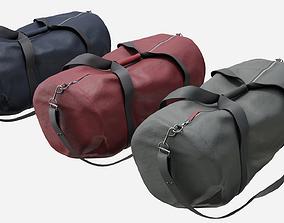 3D asset Duffle bag