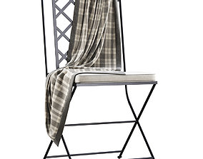 3D model Manutti St-Tropez Chair