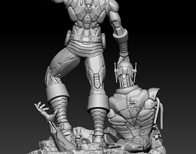 superhero Ironman Ultron - Ironman Classic 3d printable