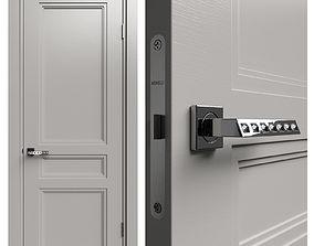 3D Internal door Academy Medea 5 doors 2