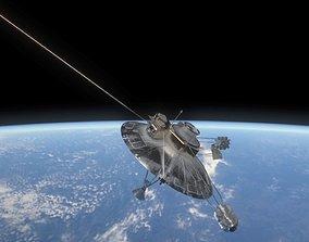 3D model Pioneer 10 satellite