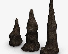 3D Stalagmite Set - Base 2