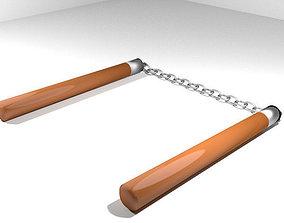 ChainStick - Wooden 3D