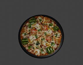 vegetable other pizza 3d model
