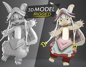 3D model Rigged Nanachi Made in Abyss