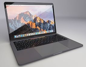 MacBook Pro 13-inch 2016 with Touch Bar 3D