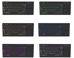 3D model Keyboard Colorful