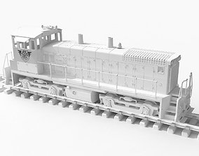 OpenRailway EMD SW1500 Locomotive 3D print model