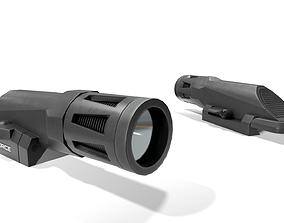 Inforce WMLx Rifle Weapon Mounted Light 3D asset