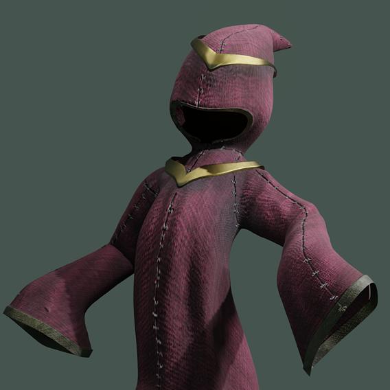 wizard - stylized magic cloak