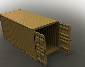 container industrial Container 3D model