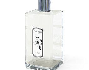 Perfume 3D Model rectangular