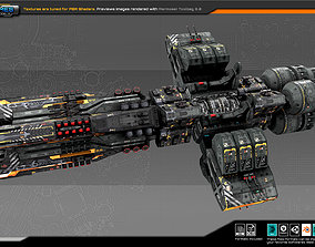 3D model Federation Dreadnought 2E