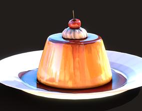 3D asset Cream Caramel