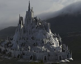 3D Castle inspired by European design Fortress version