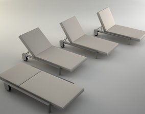 Chaise by Marmol Radziner 3D