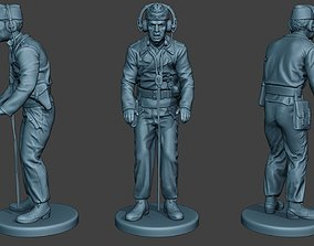 3D printable model German Tank Crew unit ww2 commanding