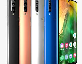 3D Samsung Galaxy A50 All colors