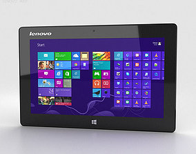 Lenovo Miix 10 Tablet 3D model