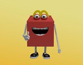3D Happy Meal Character Mcdonalds
