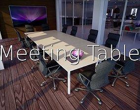3D asset Meeting Table SHC Quick Office lm