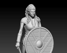 history 3D printable model Lagertha