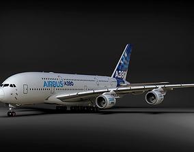 AIRBUS A380 a380 3D model