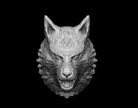 werewolf Wolf Head 3D print model