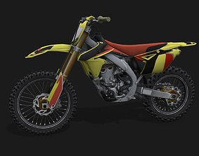 Suzuki RM-Z 450 3D model