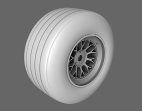 3D F1 2000 Front Rear Tyres