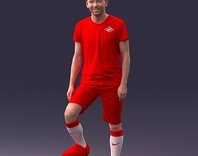 Football player 1212 3D