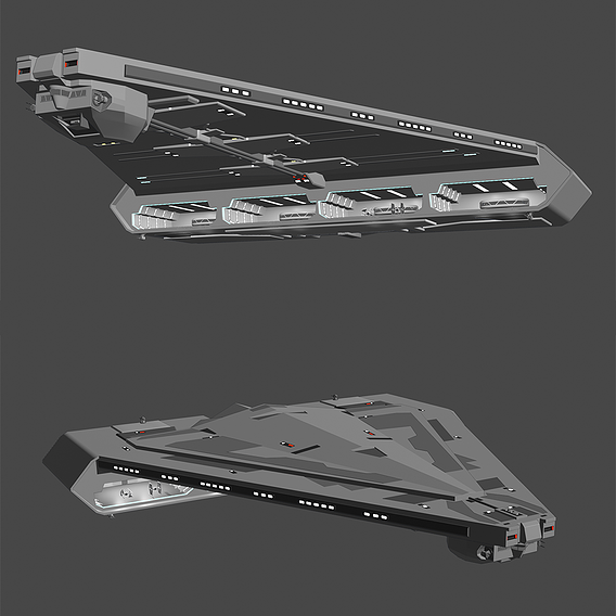 Quasar Fire Cruiser Carrier - Star Wars