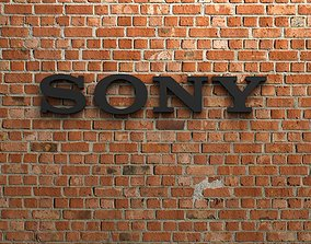 Sony Logo 3D print model