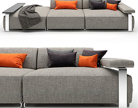Sofa Cannes 3D model