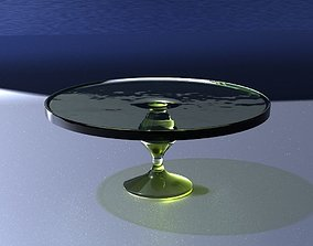 Crystal cake stand 3D model