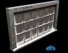 3D model VR / AR ready Frosted window