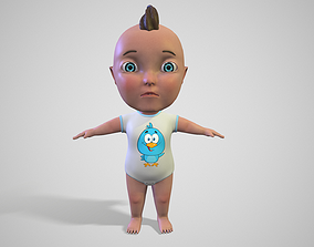 Cartoon Baby 3D