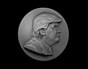 3D printable model Trump