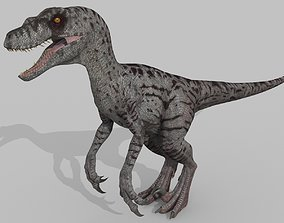 Female Alpha Raptor - 8K - Animated 3D