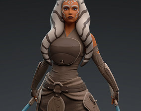 3D print model Ahsoka Tano Star Wars