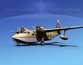 Grumman G-73 Mallard Biloxi Transport 3D